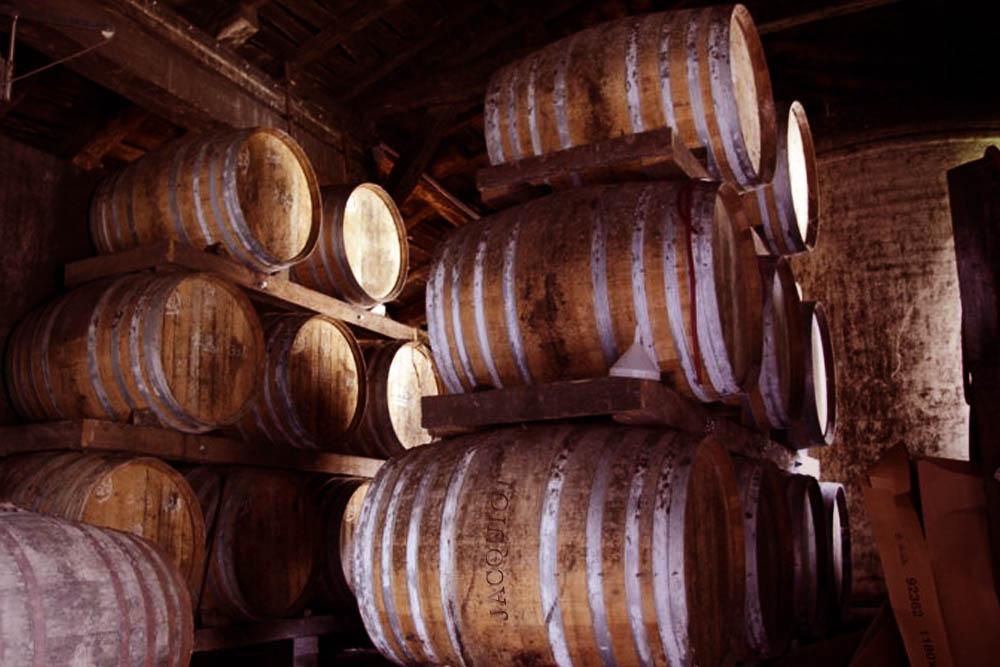 Jacquiot cognac oaks, VS cognac, VSOP cognac, and XO Cognac